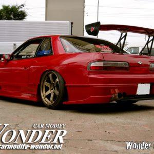 Glare Nissan Silvia S13 Rear Bumper