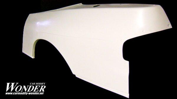 Glare Nissan S13 Silvia SD 30mm Rear fenders