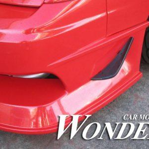 Glare Front Bumper Option Type 1
