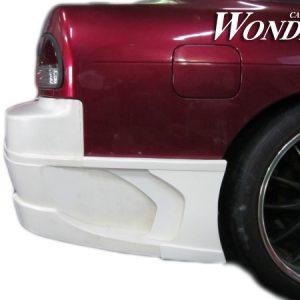 Glare Rear Bumper Option Type 2