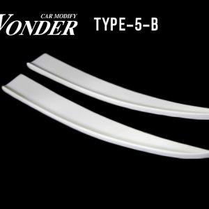 Glare Rear Bumper Option Type 5B